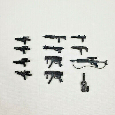 LEGO Mixed Lot of 12 Guns Weapons Blasters Star Wars Military Hunting