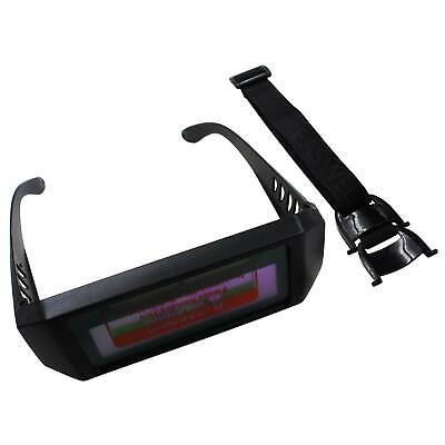 Auto Darkening Safety Goggles Welding Eyes Protect Glasses Solar Powered