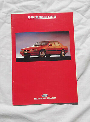 EB Ford Falcon XR6 XR8 Sales Brochure