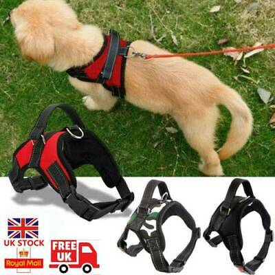 Dog Harness Adjustable Pet Puppy Walking Strap Vest Soft Comfortable Chest Belt
