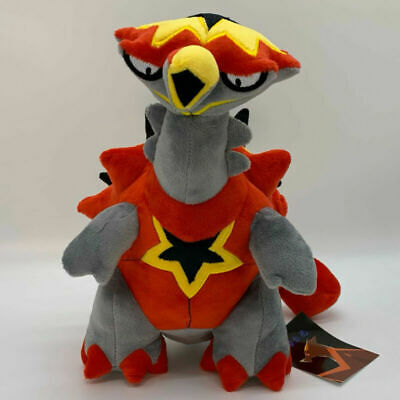 "11"" Teddy Turtonator Plush Toy Stuffed Pokemon Soft Doll Animal"
