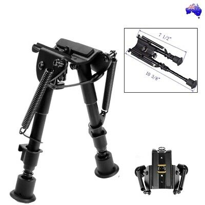 """Adjustable Legs 6-9"""" Height Sniper Hunting Rifle Bipod Sling Swivel Mount Stand"""