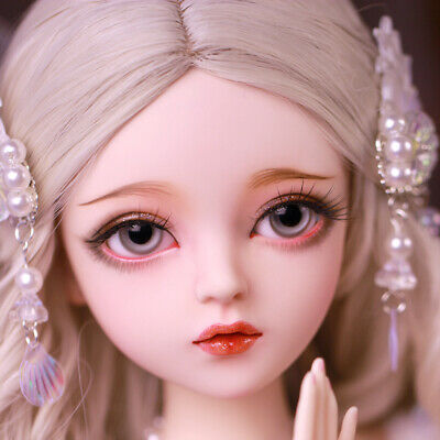 60cm 1/3 BJD Doll Ball Jointed Girls With Makeup Changeable Eyes Clothes Wigs