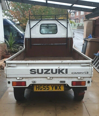 Suzuki carry pick up 1.3 11 months MOT 55 plate 2 seater van LOW MILEAGE 32k