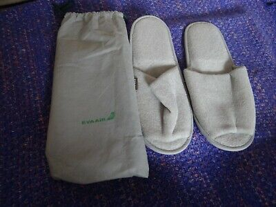 Eva Air One Size Slippers New