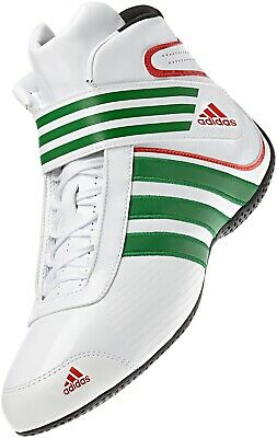 adidas Child's Kart XLT Boot White/Green/Red