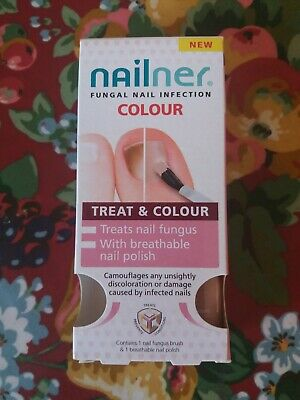 Nailer Fungal Nail Infection Treat & Colour Expired 2019-09