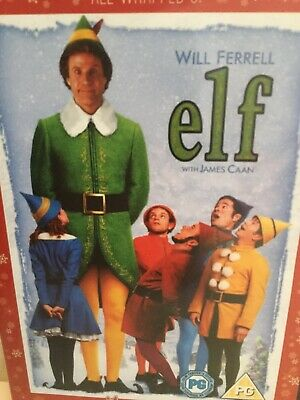 Elf (DVD, 2005) 2 Disc Special Christmas Movie Comedy Will Ferrell PG PAL 2