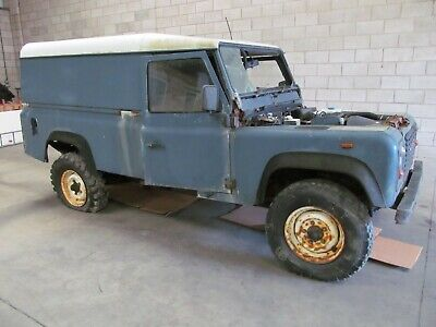 1993 Land Rover 110 LWB Defender 200TDI Commercial Van Project or Donor With V5