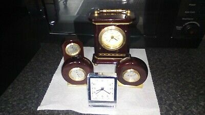 joblot off Mantel Clock just need  batterys