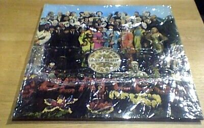 THE BEATLES SGT. PEPPER'S EMI 2 Box Press Parlophone Stereo UK LP 1967 PCS 7027