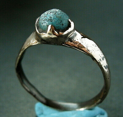 A complete genuine ancient Roman bronze ring - Found near York
