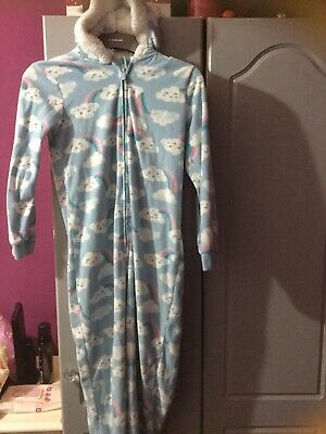 Girls Pj All In One Age 10-11