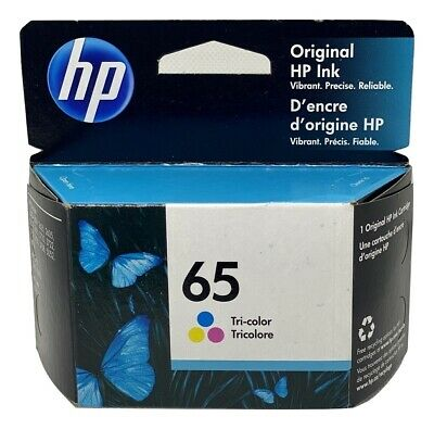 HP 65 Ink Cartridge Color NEW Genuine