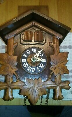 genuine black forest musical cuckoo clock