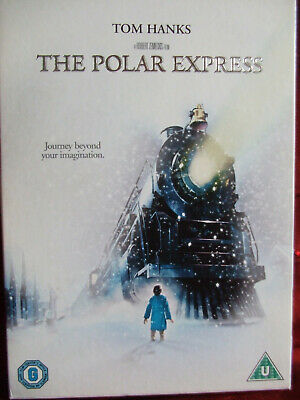 """The Polar Express DVD  Tom Hanks, Region 2 Dvd.""""A Christmas Tale"""" for all ages."""