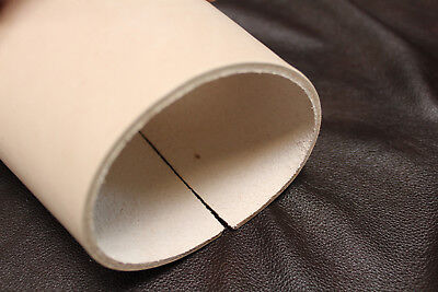 """Natural Veg Leather Belt Blank 1.1//2 /"""" 3.2mm thick 58/"""" Long"""
