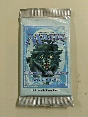 MTG: ICE AGE Factory Sealed Booster Pack - Magic the Gathering English