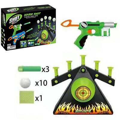Electric Air Shot Hovering Ball Target Shooting Game-Foam Dart Game Xmas Gift YO