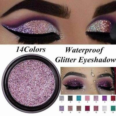 8Color Pigment Glitter Shimmer Eyeshadow Metallic Eye Shadow Palette Makeup