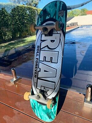 """REAL Skateboard 8"""" - Great Condition"""