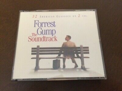 Forrest Gump: The Soundtrack - 2 CDs by various artists - 32 classic songs