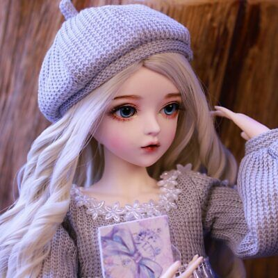 60cm BJD Doll Gifts for Girl Doll With Face Makeup Changeable Eyes Wigs Clothes