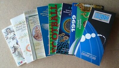 £2 Two POUND BRILLIANT UNCIRCULATED COIN PACKS (Royal Mint) Select 1986 - 2001