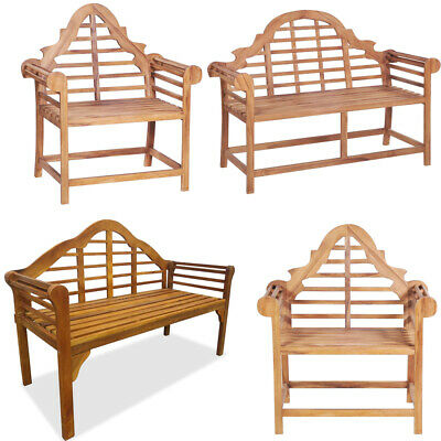 Garden Love Seat Bench Chairs Outdoor Bench Seat Wooden Furniture Home Armchair