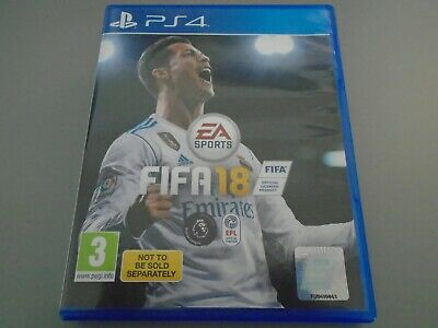 FIFA 18  PS4 PlayStation 4  Excellent Condition  football soccer