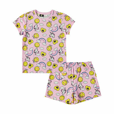 Smiley Summer Girls Pyjamas New with Tags various sizes free post