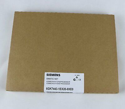 1PC Siemens NEW 6GK7443-1EX20-0XE0 6GK7 443-1EX20-0XE0 One year warranty