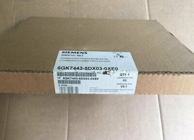 1PC New In box SIEMENS CP443-5 6GK7443-5DX03-0XE0 One year warranty