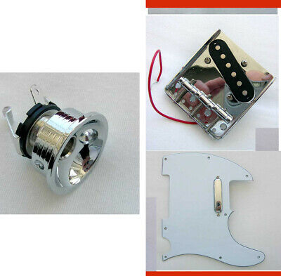 TELE Parts -Electrosocket,Pickguard,Pickups,Bridge, TELECASTER