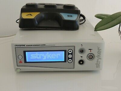 Stryker Crossfire Arthroscopy System Shaver Console with Foot Switch/TESTED