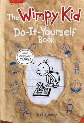 The Wimpy Kid Do-it-Yourself Book by Jeff Kinney 9781419741906 | Brand New