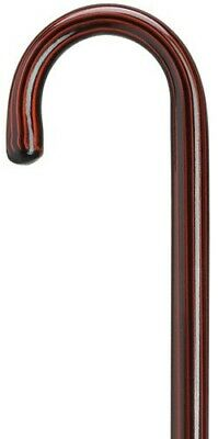 Men Exquisite Rosewood Finish Crook Handle Northern Ash Solid Wood Walking Cane