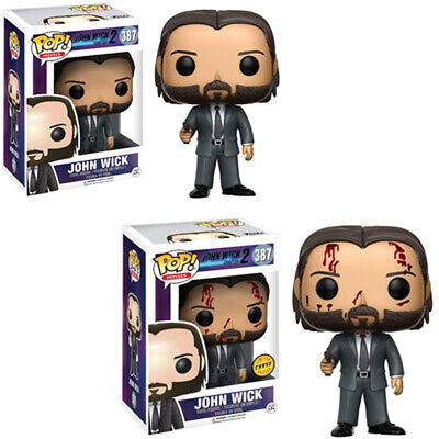 Funko Pop! Movies #387: John Wick Chapter 2 Bloody Chase with Protector New 2020