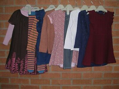 Mainly NEXT Girls Bundle Tops Leggings Jeans Dresses Tights Age 3-4 104cm