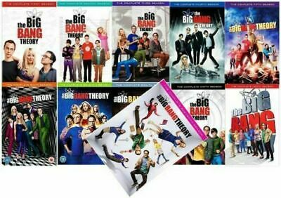 THE BIG BANG THEORY: Complete Series Seasons 1-11 DVD NEW Sealed Free Shipping