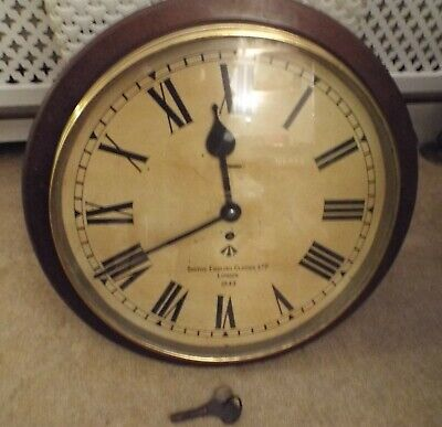 1943 Wardroom  Ministry Clock, Large.