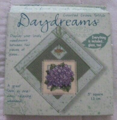 """2000 Dimensions Daydreams Cross Stitch Kit 5"""" Glass """"Take A Moment For Yourself"""""""