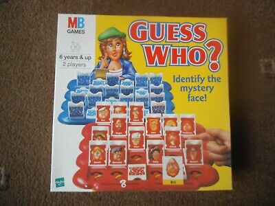 MB Games GUESS WHO? Age 6+