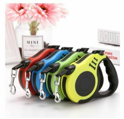 Dog Leash Retractable Walking Collar Automatic Traction Rope Small Pet Puppy 3m