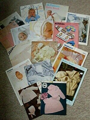Knitting Patterns ( For Babies & Children ) 14 + 2 Booklets. Gc