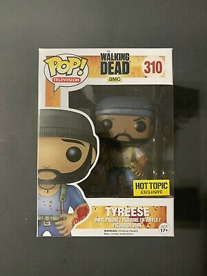 Funko Pop Television The Walking Dead — Tyreese 310 (Hot Topic) — Free Shipping