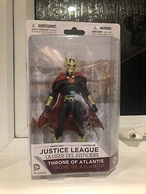 Oceanmaster Justice League Throne Of Atlantis Action Figure DC Boxed Unopened