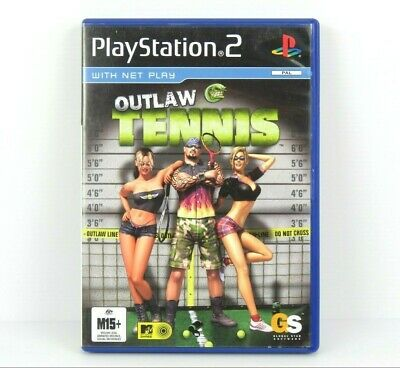 Outlaw Tennis PS2 PlayStation 2 Game Complete PAL