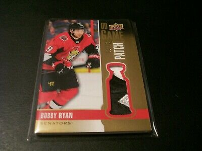 2019/20 Upper Deck Series 1 Bobby Ryan 2 Colour UD Game Patch Card /15