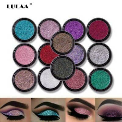 Glitter Eyeshadow Waterproof Shimmer Eye shadow Beauty Eyes MakeUp Cosmetics
